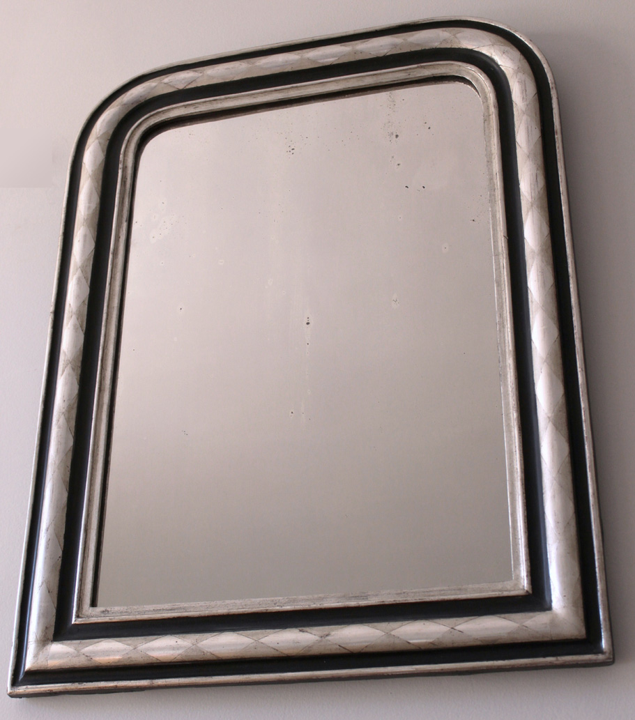 Miroir design louis philippe grav losange for Miroir losange